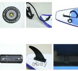 10FT Upgrade SUP Board Inflatable Stand Up Paddle Surfboard with Complete Kit