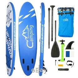 10Ft 10Inch Inflatable SUP Stand Up Paddle Board & Kayak 2 in 1 Water Surfboad