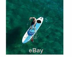 10' Inflatable SUP Stand Up Paddleboard Surfboard with SUP Paddle (iSUP)