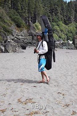 (10)Lost Coast Surfboard Backpack Camping Expedition Bag. A multi-board surf bag