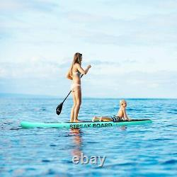 10ft Inflatable Non-slip Stand Up Paddle Board Surfing SUP Board with Complete Kit
