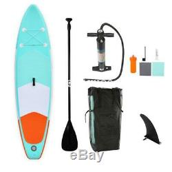 10ft Inflatable SUP Stand Up Surfing Paddle Board Pump&Carry Bag Complete Set