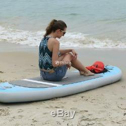 10ft Inflatable Surfboard Stand Up Adjustable Surfing Paddle Board iSUP Surfing