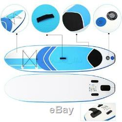 10ft Surfboard Inflatable Stand-Up Adult Paddle Board Surf Float&Paddle DHL/TNT