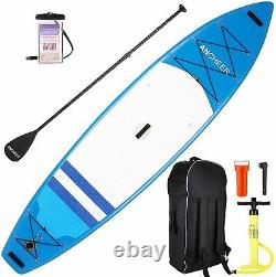 11' Adjustable Paddle Inflatable Surfboard Double Layer Touring iSUP All-purpose