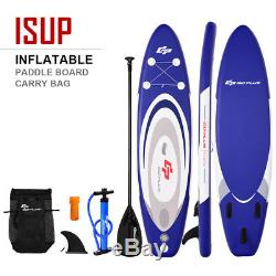 11 Inflatable Stand up Paddle Board Surfboard SUP With Bag Adjustable Paddle Fin