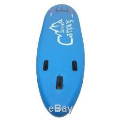 11' x 32 Inflatable Stand Up Paddle Surf Board SUP Package Fins Paddle Kayak