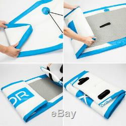 11' x 32 x 6 Inflatable Stand Up Paddle Surf Board SUP Kayak Package Paddle