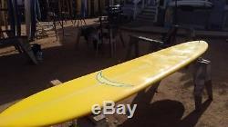12'4 X 24x 3 Classic Style Longboard Shaper's Studio. Quad Stringer Surfboard