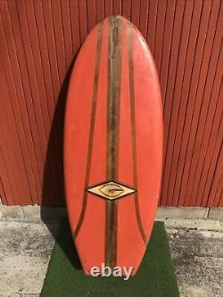 1960s Antique Belly Board JEFFERY DALE Fiberglass Belly board surfboard