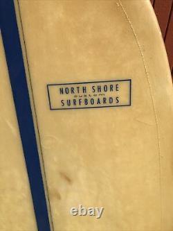 1960s Antique NORTH SHORE Custom SURFBOARDS Fiberglass Belly board surfboard 4