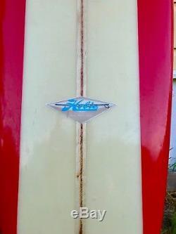 1964 Hobie longboard surfboard noserider / pristine condition / vintage