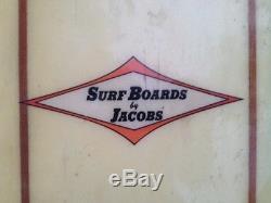 1965 Hap Jacobs Vintage Longboard 9'8