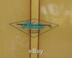 1965 Hobie Noserider Surfboard Designed by Phil Edwards 9' 6 Long VERY RARE