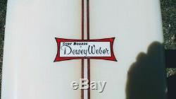 1966 Vintage all orig Dewey Weber Performer surfboard