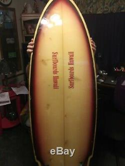 1976 vintage twin fin surfboard mckevlin