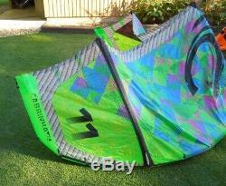 2014 Cabrinha 11m one pump Drifter kite kiteboarding kitesurfing boarding surf