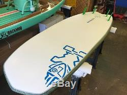 2017 Starboard Hyper Nut 7' 2 X 28 105L Pine Tech SUP Stand Up Paddleboard