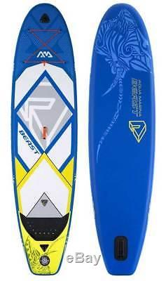 2018 Aqua Marina Beast Paddle Board 10'6 Inflatable Stand Up Paddleboard ISUP