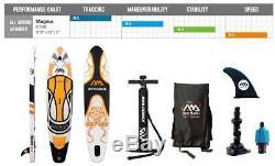 2018 Aqua Marina Magma Paddle Board 10'10 Inflatable Stand Up Paddleboard ISUP
