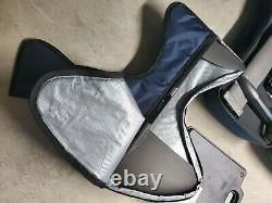 2020 EFOIL 62 EXPLORER Electric Foilboard, Carbon Black/Brushed Blue