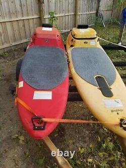 2 Surfango Jet Surfboards Powersurf Surf Board Parts Motors Trailer Surfboard
