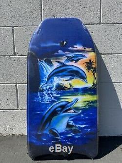 37 Wave Body board Boogie Board Water Board With Basic Leash