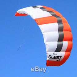 3sqm Dual Line Traction Power Kites Trainer Kite Beginner Surfing Landboarding