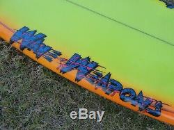 5'4 Fox Wave Weapons surfboard retro old school San Diego Ca local pickup only