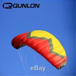 5m² Quad Line Traction Kite Powerkites Trainer Kite Land Boarding Kite Surfing