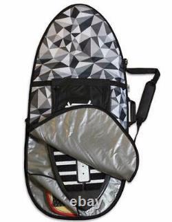 66 Skimboard/Wakesurfer Double Backpack Style Travel Bag/Pixel