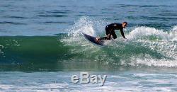 6'11 Funboard Surfboard Woody/Epoxy Paragon Surfboards