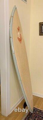 6' 6 David Nuuhiwa Vintage Dyno 60's/70's Hawaii Surfboard