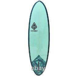 6'6 Retro Egg Surfboard SeaWeed