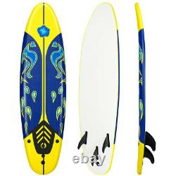 6' Surfboard Stand Up Paddle Board SUP Ocean Beach Surf Board Kid Adult Freshman