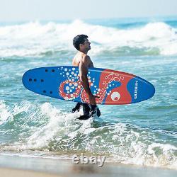 6ft Surfboard Surfing Paddle Surf Foamie Boards Ocean Beach Adult Outdoor Sports