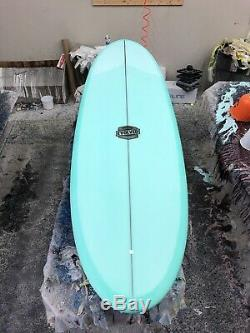 72 Eggy Single Fin Surfboard