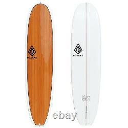 7'8 Epoxy Mini Log Surfboard Woody