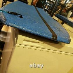 90s BZ Boogie Board Bodyboard Pro Stinger & T&C Bag North Shore Hawaii 43 XL