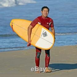 9'0 Epoxy Modern Noserider Surfboard Creamsicle