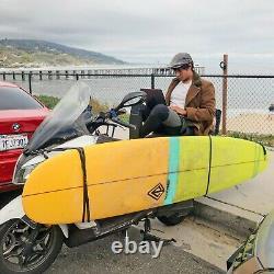 9'0 Epoxy Retro Noserider Surfboard Multi Color (P3)