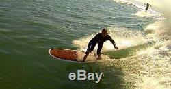 9'0 Modern Noserider Longboard Woody/Epoxy Paragon Surfboards