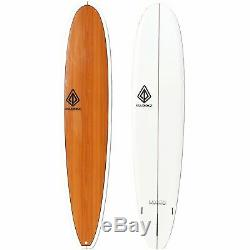 9'0 Modern Noserider Surfboard Wood Grain