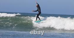 9'0 Retro Noserider Soft Top Surfboard
