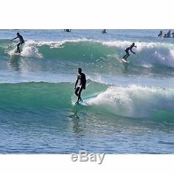 9'0 Retro Noserider Surfboard SeaFoam Green