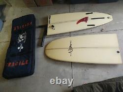 9'0 Yater pope bisect Handshaped longboard surfboard