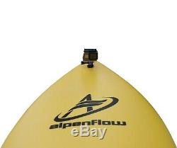 ALPENFLOW 5'7 Foam Surfboard Soft Top Surf with Leash Fins and Traction Pad