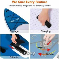 ANAdjustable Paddle Inflatable Surfboard Double Layer Touring iSUP All-purpose
