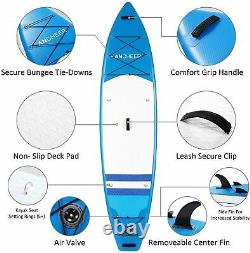 ANAdjustable Paddle Inflatable Surfboard Double Layer Touring iSUP g c