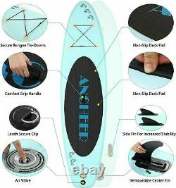ANCHEER Inflatable Stand Up Paddle Board, Sup Inflatable Paddle Surf Board 01